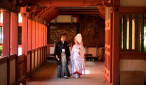 婚礼フォト(椿神社)