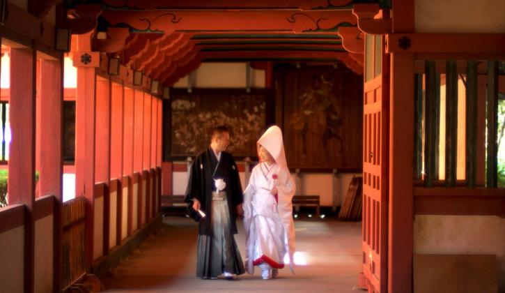 婚礼写真(椿神社にて)